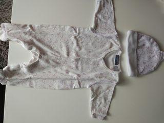 lote 3 pijamas recien nacido