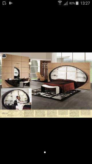 Dormitorio completo moderno 1'50 Vidal grau