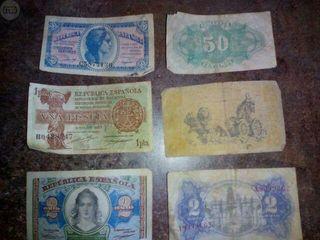 coleccion billetes republica española