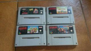 Juegos Nintendo Snes