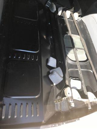 Separador de zona conductor de Mercedes Benz Vito