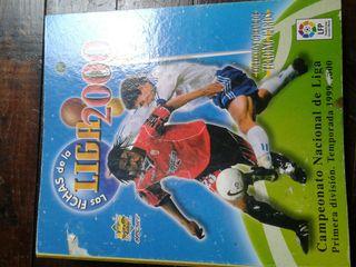 album cromos liga 2000