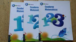 Cuadernos actividades 3° primaria