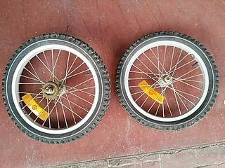 """2 Ruedas bicicleta 16"""""""
