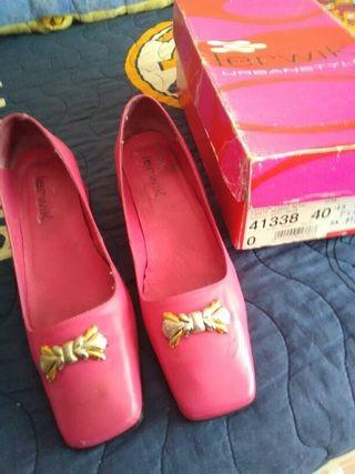 Zapatos rosas. Num 40