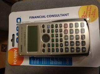 Calculadora financiera Casio fc100