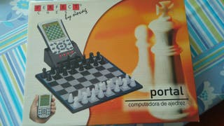 Juego ajedrez electronico. Perfect chess by Novag