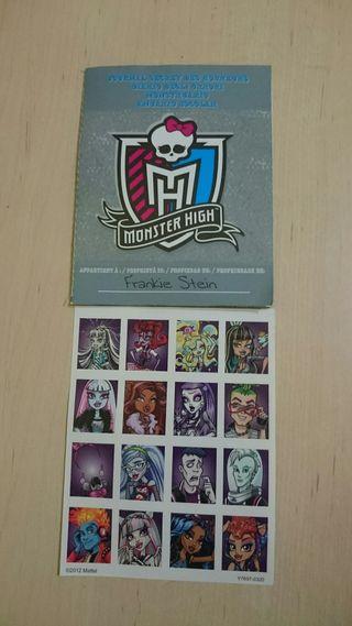 Diario Muñeca Frankie Picture Day Monster High