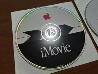 Software Apple iMovie VINTAGE CD ORIGINAL