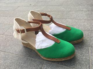 Zapatillas cuña mujer talla 38