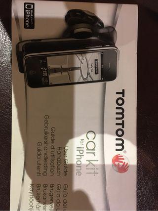 Soporte TomTom para iphone