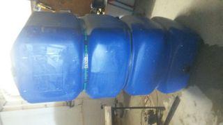depósito de agua potable 1000l