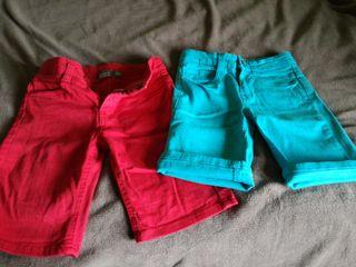 Pantalones cortos talla 7