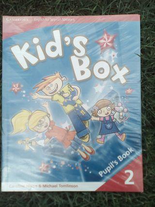 Libro texto Kid's Box 2.