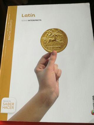 Libro de Latin bachillerato