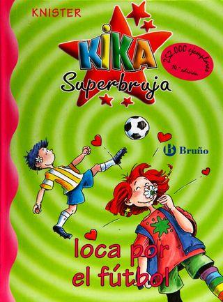 kika super bruja loca por el futbol