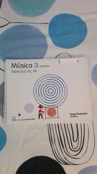 libro de música 3° primaria