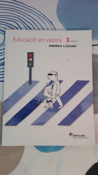 libro 3° primaria EDUCACIÓ EN VALORS