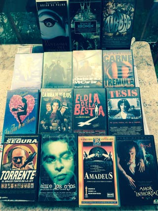 VHS Colección de películas
