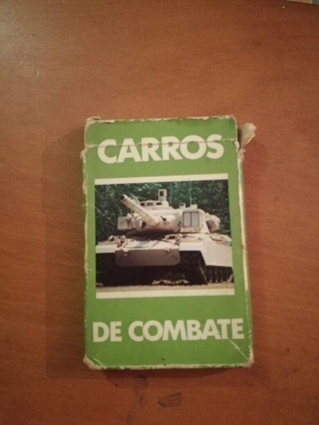 baraja de cartas carros de combate