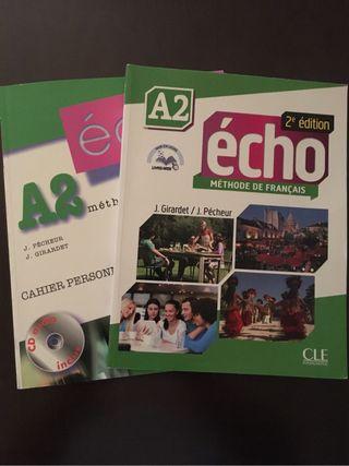 Nivel A2 Methode de Francais Echo
