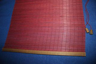 Cortina pequeña de esterilla Bambú