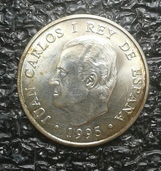 Moneda de plata 2000 pesetas 1995