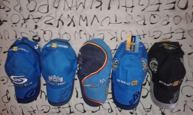 Colección gorras oficiales Fernando alonso