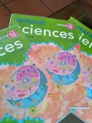 Libro. Natural Science. Primary.