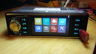Radio de coche nueva Mp5 + cámara trasera