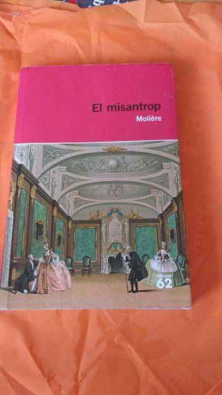 El misantrop , Moliére, educación 62
