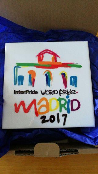 azulejo del Orgullo Madrid