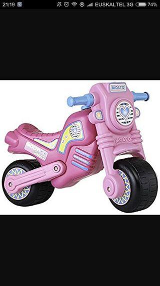 moto molto rosa