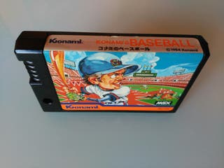 Konami's Baseball (cartucho MSX)