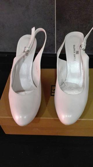 zapatos de novia de segunda mano en leganés en wallapop