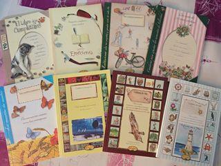 Colección de 8 Cuadernos de Notas de Rustika.