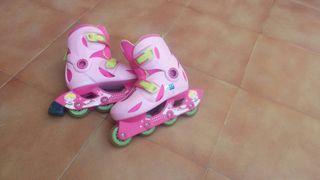 patines de niña de linea numero 32-34