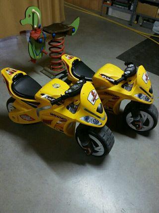 Una moto niño queda de 3 a 8 años injusa
