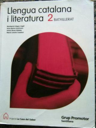 Libro llengua catalana i literatura 2° bachillerat