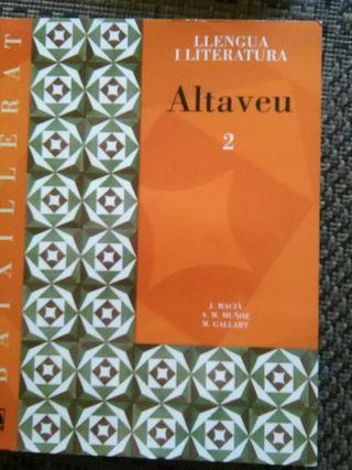 Libro llengua i literatura 2° bachillerato