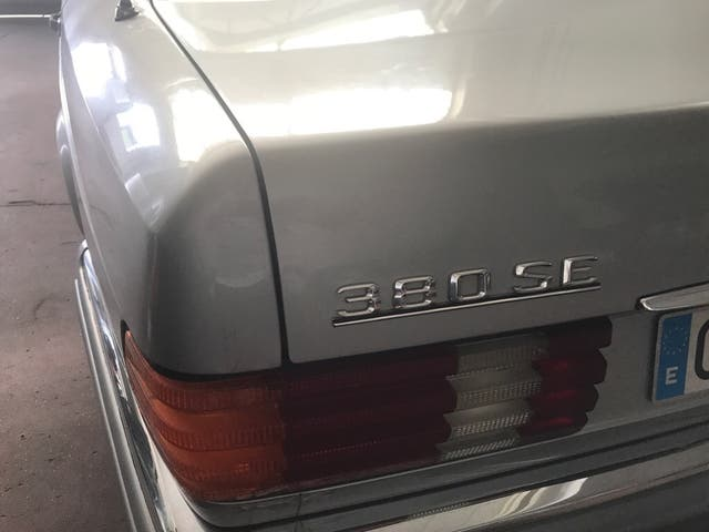 Mercedes-benz 380SE