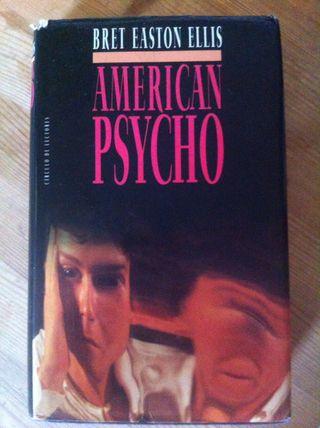 Libro American Psycho.