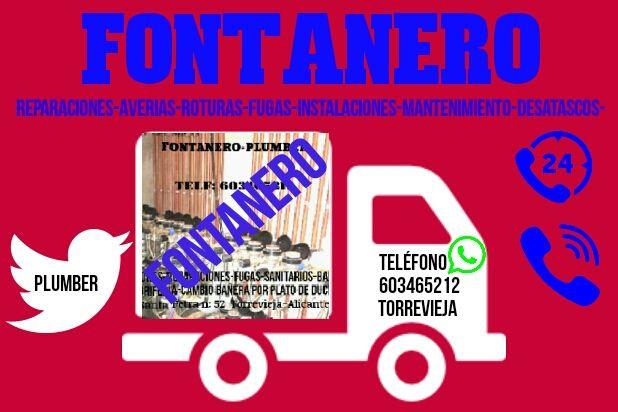 Fontanero Torrevieja En Torrevieja En Wallapop