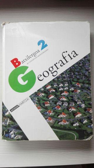 Geografia 2°Bachiller