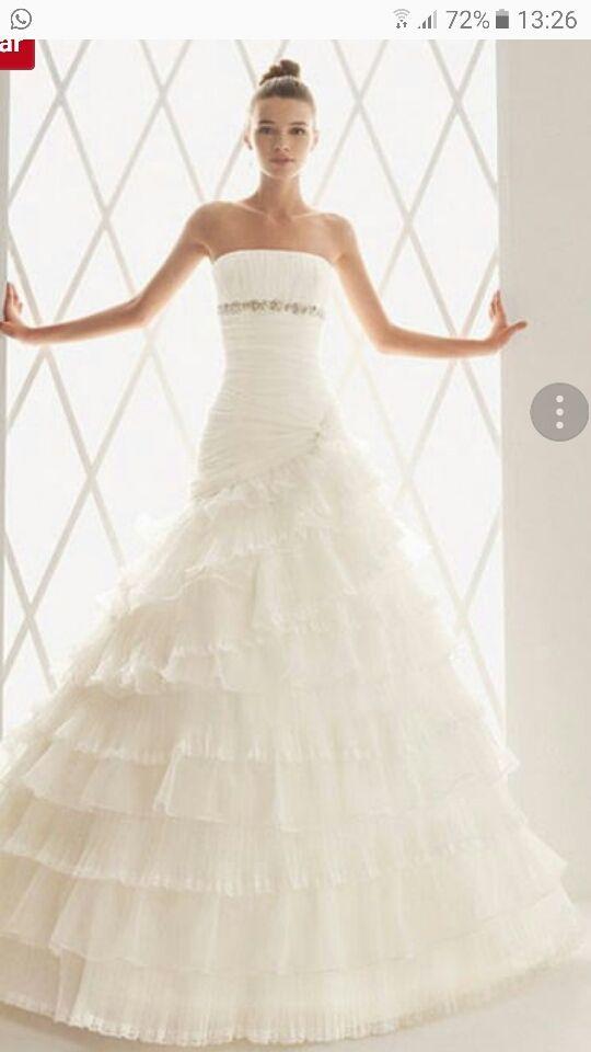 vestido novia.Coleccion de AIRE BARCELONA 2010