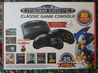 Consola sega mega drive 25th anniversary