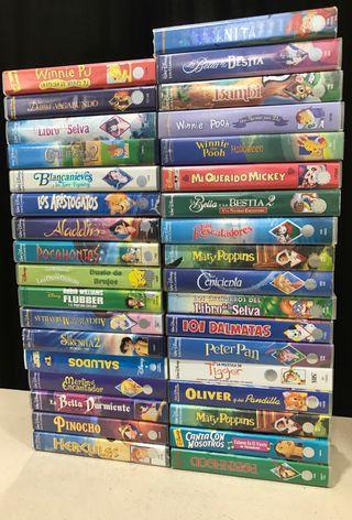 35 peliculas VHS