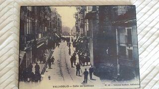 Cuadro Calle Santiago antiguo. Valladolid.