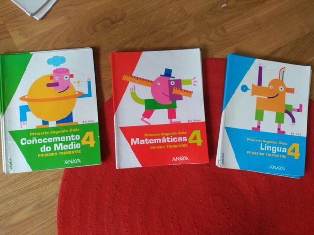 Libros Cuarto de primaria Anaya de segunda mano por 5 € en O Temple ...