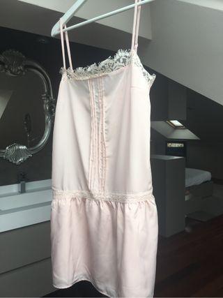 Vestido lencero rosita palo